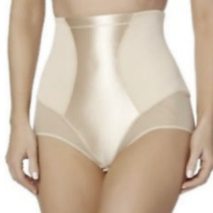 Jaclyn Smith Shapewear Small Nude Beige Brief New